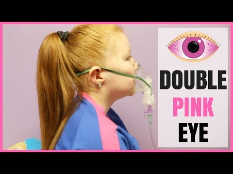 OH NO! Double Pink Eye!