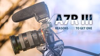 Reasons (not) to get the Sony A7R III