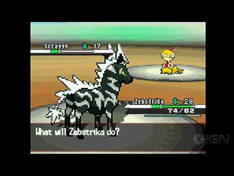 Pokemon Black: Victini Event with Liberty Pass Gameplay