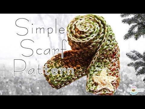Crochet Scarf Pattern - Easy * Fast * Warm!