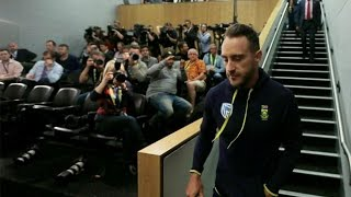 Faf Du Plessis denies cheating, says made