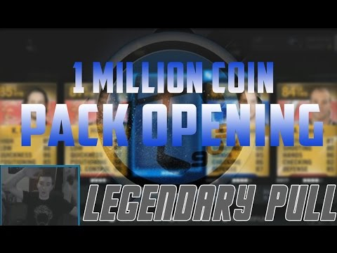 NHL 15 HUT   1,000,000 Coin Pack Opening!