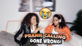 WE PRANK CALLED PEOPLE BUT WE CAN
