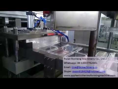 PET container box making machine