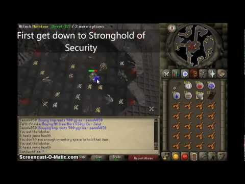 Runescape 07 obtaining clue scroll and training tip
