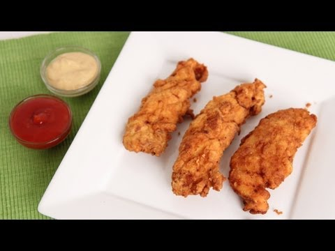 Chicken Fingers Recipe - Laura Vitale - Laura in the Kitchen Episode 617