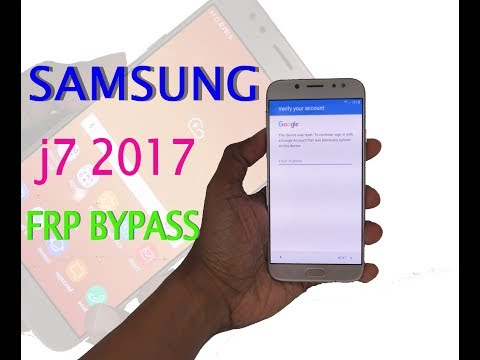 Samsung Galaxy j7 2017 FRP bypass 100%  without any device,