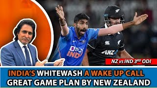 India's WHITEWASH a wake up call   Great game plan by New Zealand   3rd ODI