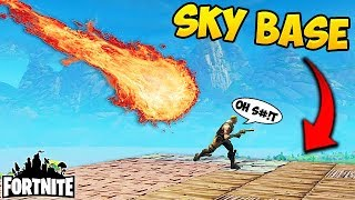 Meteor Strike vs SKY BASE! - Fortnite Funny Fails and WTF Moments! #180 (Daily Moments)