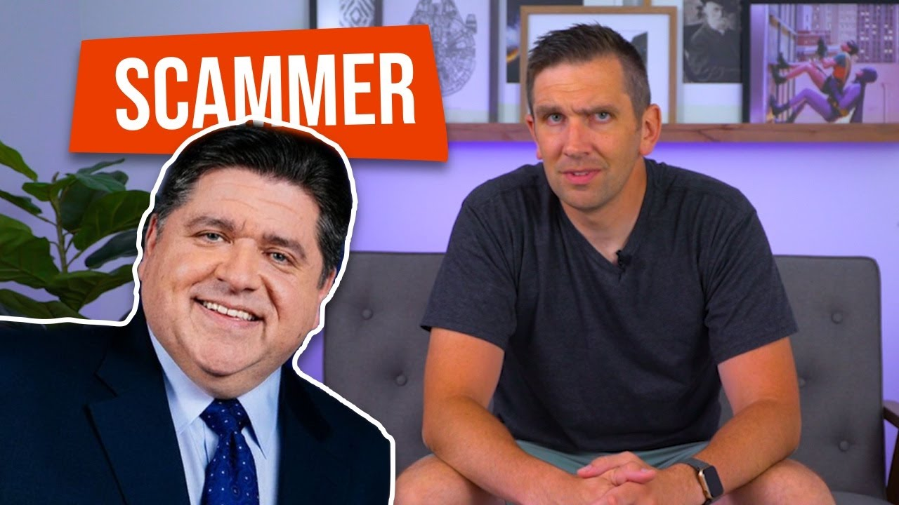 A Scammer is Impersonating the Governor of Illinois!