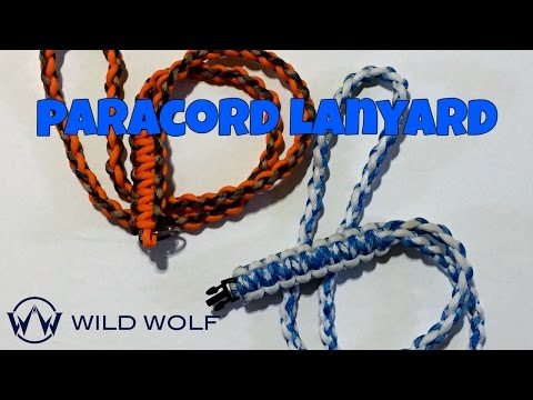 Paracord Lanyard - Learn How to Make a Lanyard out of Paracord