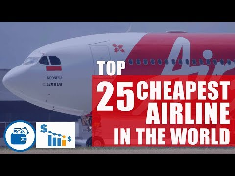 Top 25 cheapest International airline in the world by cost per mile I Report - Rome2rio