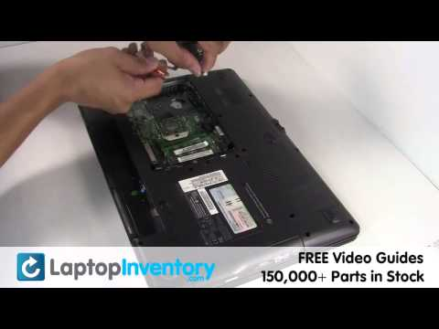 Gateway CPU Replacement Guide - Replacement Laptop Notebook Install Guide, Replace