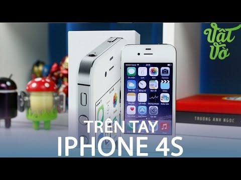 Vật Vờ| Mở hộp iPhone 4s thần thánh mới 100%, chưa active