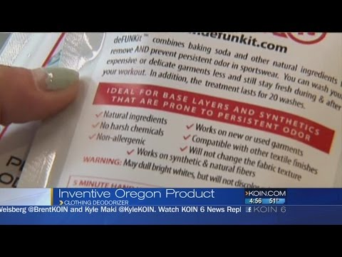 Invention keeps gym clothes smelling clean