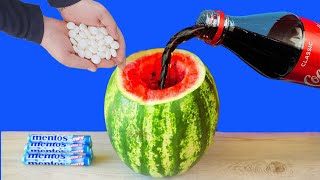 3 SIMPLE LIFE HACKS WITH WATERMELON