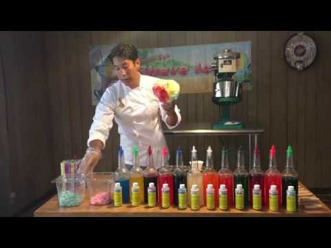 DIY Gourmet Hawaiian Shave Ice