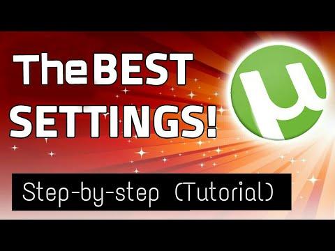Best utorrent settings for india