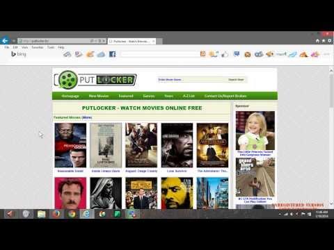 How to Popup Block Putlocker on Internet Explorer - Tutorial