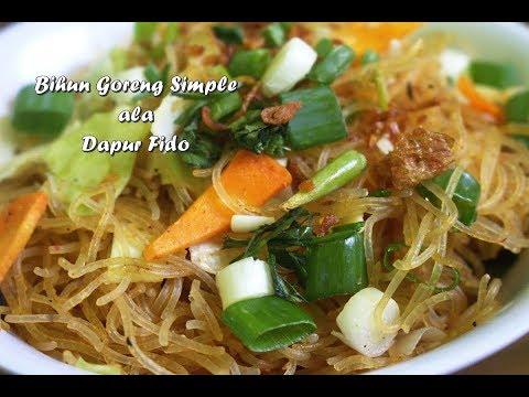 [Dapur Fido] Bihun Goreng Simple 3 menit