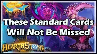[Hearthstone] These Standard Cards Will Not Be Missed
