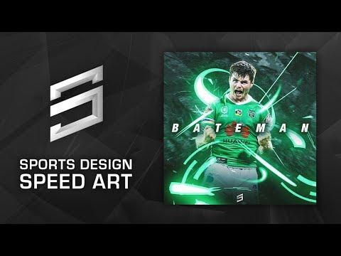 Sports Design Speed Art - John Bateman | Photoshop