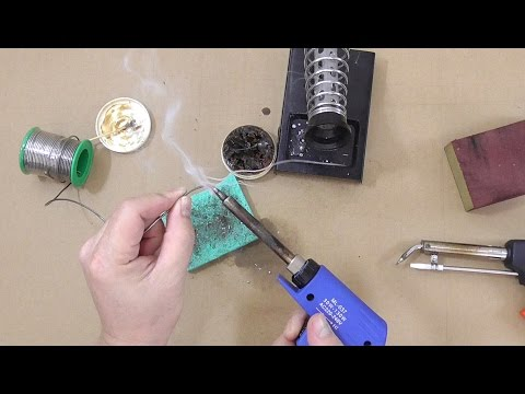 How to Renew Oxidized Soldering Tip