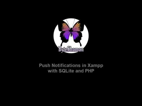 Web Push Notifications in Xampp with PHP