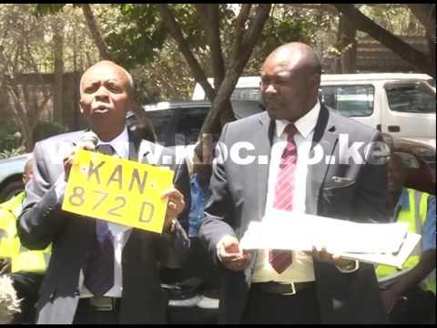 CS raises alarm over circulation of fake number plates