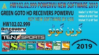 ali 3510 Green go to cccam Working software - PakVim net HD