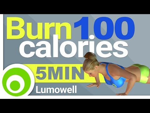 Burn 100 Calories in 5 Minutes to Lose Weight at Home