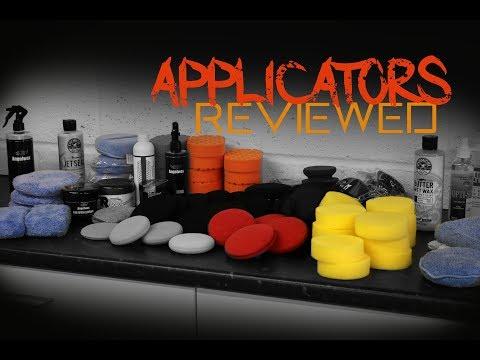 The Best Wax applicators - Foam and microfiber car applicators reviewed