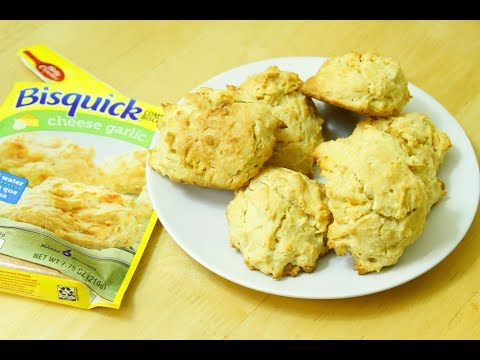 How to bake Bisquick Cheese Garlic Biscuit Mix