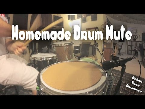 How to Make a Drum Mute