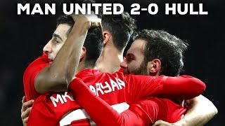 MANCHESTER UNITED 2-0 HULL CITY | FANCAMS | REACTION