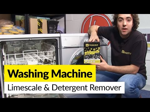 How to use Limescale and Detergent Remover