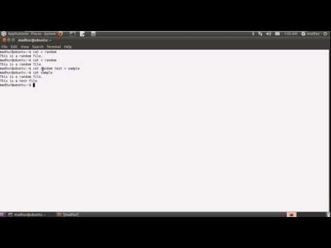 Shell Scripting Tutorial-5: Text Files: Create, Merge & Play