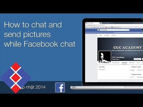How to chat and send pictures while Facebook chat