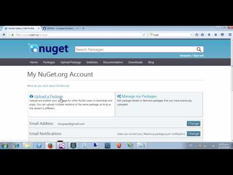 How to create and publish NuGet package (2)