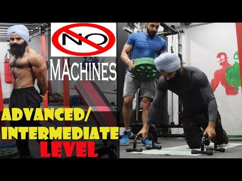 Complete CHEST and SHOULDER workout(Hindi )||No machines required