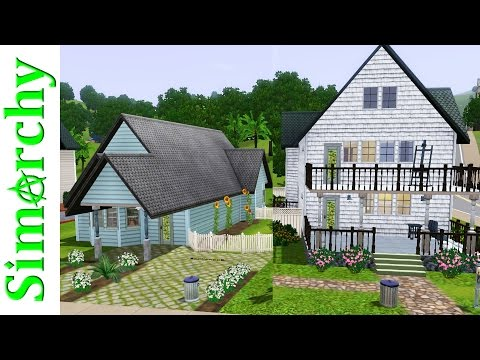 The Sims 3 House Tour - Sunset Valley Base Game Homes - Part 4