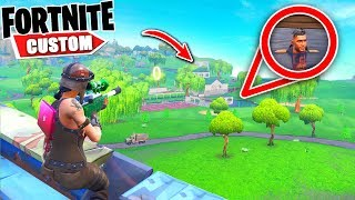 Fortnite SNIPE & SEEK 2000 IQ hiding spots.. with SUBSCRIBERS.. How will they do (Fortnite Creative)
