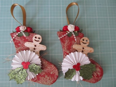 Personal Cricut Challenge #44~ Paper Mache Christmas Ornaments