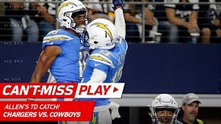 Philip Rivers Tosses TD to Keenan Allen to Finish Off 92-Yd Drive! | Can