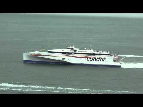 Condor Ferries new ferry