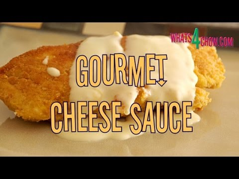 Gourmet Cheese Sauce. How to make silky smooth, flavorful cheese sauce - no roux = no lumps!