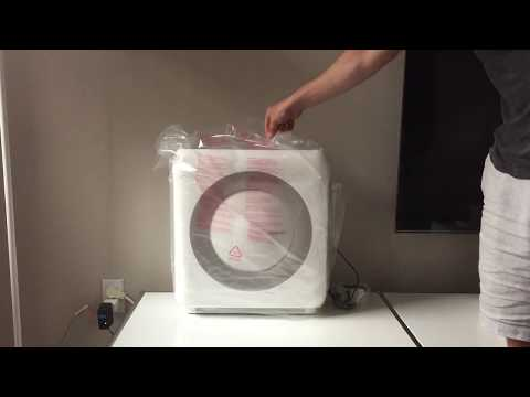 Coway AP-1512HH Mighty Air Purifier Unboxing (HEPA filter)