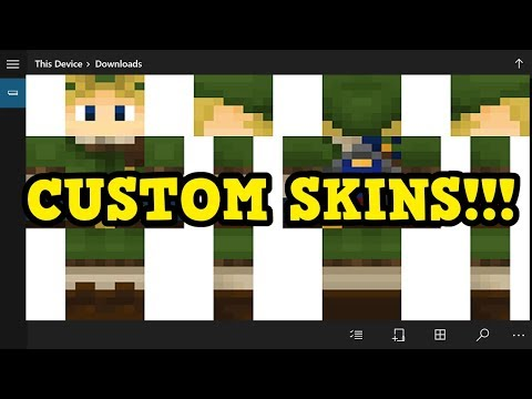 Minecraft CUSTOM SKINS Are Coming To Xbox One!
