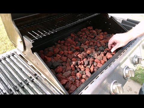 Setup Nexgrill Gas Grill to Use Lava Rocks