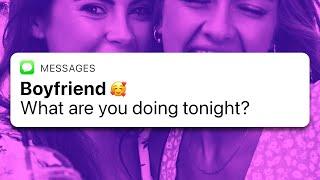 HOT GIRL SENDS FLIRTY TEXT FOR SURPRISING REASON